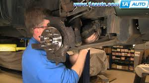 auto repair replace front axle cv joint dodge durango dakota 1998
