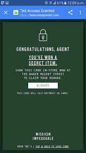 lexisnexis rewards code ted baker unveils shoppable video u0026 google voice search stunt for