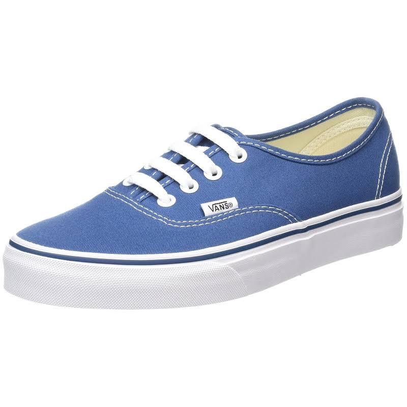 Vans Authentic Skate Shoes Blue- Mens
