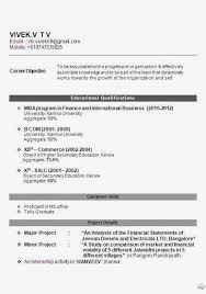 freshers of mba in finance  download resume format amp write the best  resume Than       CV Formats For Free Download