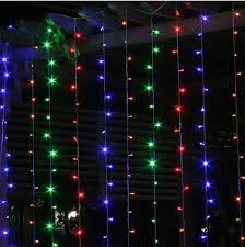 Blue Led String Lights by Cheap 6m 3m 600 Led Curtain Light Outdoor Wedding Party Fairy