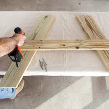 Plans For Wood Picnic Table by Picnic Table Plans How To Build A Picnic Table