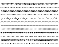 easy to draw border designs easy borders to hand draw hand drawn