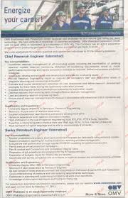 Office Engineer Job Description Chief Reservoir Engineer Senior Petroleum Engineer Wanted 2017