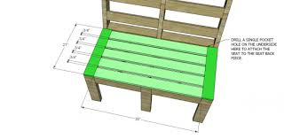 free diy furniture plans to build customizable outdoor furniture