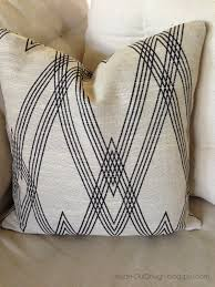 inside out design a pillow cover made with nate berkus fabric it s regular price is 49 99 yard but joann fabrics has all home decor fabrics marked down to 50 off this week and since i just needed a half yard