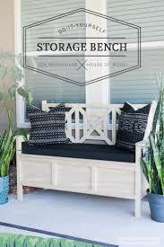 Diy Reclaimed Wood Storage Bench by 25 Best Bedroom Bench With Storage Ideas On Pinterest Diy Bench