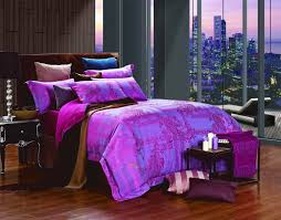 Purple Bed Sets by Bedroom Alluring Queen Size Bedding Sets For Bedroom Decoration