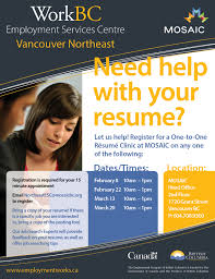 Northeast Employment Services Centre  Phone                Email  NortheastESC mosaicbc org  Website  www employmentworks ca