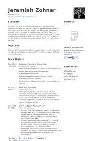 Sample Test Manager Resume by Host Resume Samples Visualcv Resume Samples Database