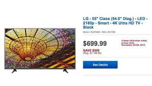 best buy black friday deals hd tvs buy matches walmart u0027s 1 hour guarantee lg 55uf6450 4k uhd tv black
