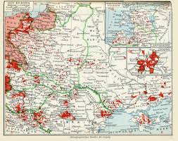 Europe After Ww1 Map by A 1932 Map Of The Ethnic German Population In Eastern Europe