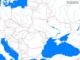 Blank Europe Map by Blank Eastern Europe Map Thefreebiedepot