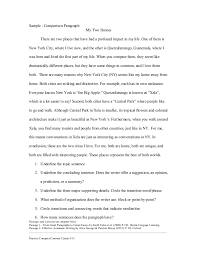 Comparison And Contrast Essay Examples College   St Pinterest