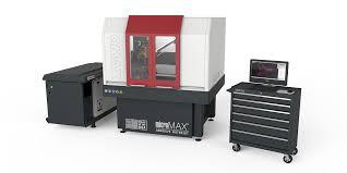 omax micromax abrasive water jet cutting machine