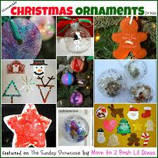christmas decorations to make at home mom to 2 posh lil divas kids diy homemade christmas ornaments