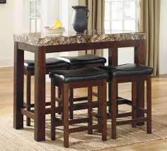 Kitchen Table Bar Style Kitchen Pub Dining Table Sets 3 Piece Dinette Set Dining Room