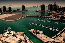 Philip Cox has been staying at the Pearl Island apartment complex in Doha