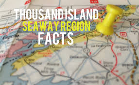 Thousand Islands Map Thousand Island Seaway Region Facts