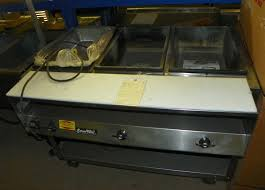 Vollrath Steam Table by Used Vollrath Used Vollrath 3 Bay Electric Steam Table 38003