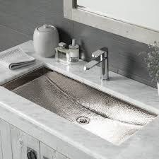 trough 30 rectangular copper bathroom sink native trails
