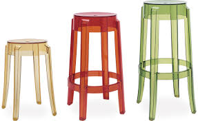 Philip Starck by Charles Ghost Stool 2 Pack Hivemodern Com
