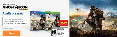 Tom Clancy     s Ghost Recon Wildlands Available now Pick up the game today and receive the bonus