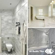 bathroom tile ideas white carrara marble tiles and calacatta gold