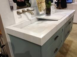 Kitchen Wall Mount Faucet Bed U0026 Bath Fantastic Vanity Top Cultured Marble With Through Sink