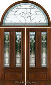 Transom Window Above Door Double Doors With Arched Transoms Half Round Transom