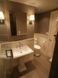 Wainscoting Ideas Bathroom by Bathroom Design Ideas Wainscoting Here U0027s An Elegant Half Bath