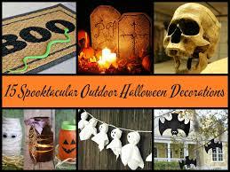 15 spooktacular outdoor halloween decorations jpg