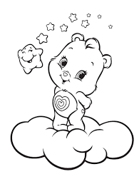 Coloring Ideas by Good Care Bear Coloring Pages 54 On Gallery Coloring Ideas With