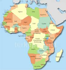 Map Of Mali Africa by