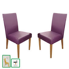 Purple Dining Room Purple Dining Chairs Skyline Furniture Denise Tufted Arched