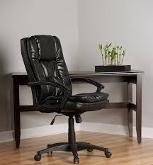 Comfortable Chair by Amazon Com Comfort Products 60 6810 Leather Executive Chair With