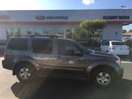 nissan pathfinder oil change interval 2006 used nissan pathfinder s 2wd at kearny mesa toyota serving
