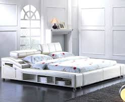 Modern Leather Bedroom Furniture Twin Bed Frame Drawer Modern Bed Frames Modern Furniture Canada