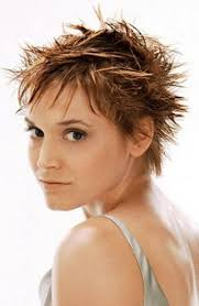 asian women shor spiky hairstyles spiky short hairstyle with close