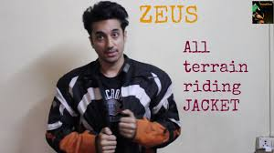 riding jackets for sale zeus all terrain riding jacket review youtube