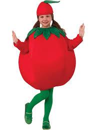 childs tomato costume girls food halloween costumes