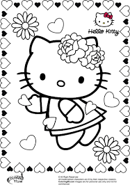 princess hello kitty coloring pages hello kitty mermaid coloring