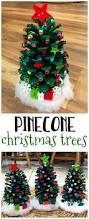 Diy Mini Christmas Trees Pinterest Decorate Pinecone Christmas Trees Pinecone Christmas Tree And Craft