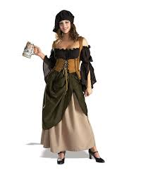 18th Century Halloween Costumes 3pc German Bar Wench Women U0027s Halloween Party Costume