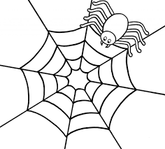 spider coloring pages fablesfromthefriends com