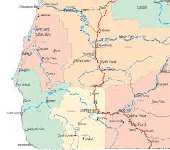 Maps Oregon by Gallery Of Oregon Maps