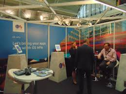 Ordnance Survey of the UK booth The Spatial Blog
