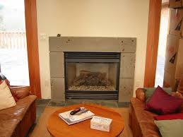cast concrete fireplace fireplace mantels as a center point in the