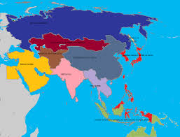 Map Of Asia by Alternate History Map Of Asia 2 By Gamekiller12 On Deviantart