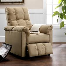 Swivel Recliner Chairs For Living Room Dorel Living Dorel Living Slim Recliner Beige